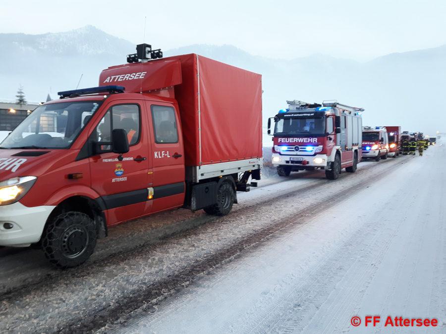 KAT-Einsatz Schneeräumung Gosau