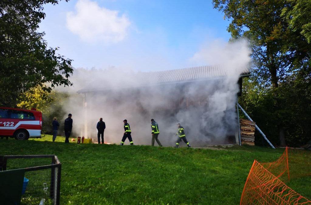 ,Abschnitt Atemschutzübung in Abtsdorf